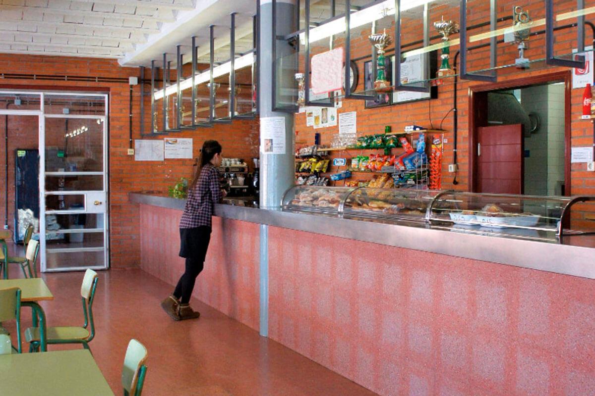 Cafeteria de l'Institut Torre Vicens