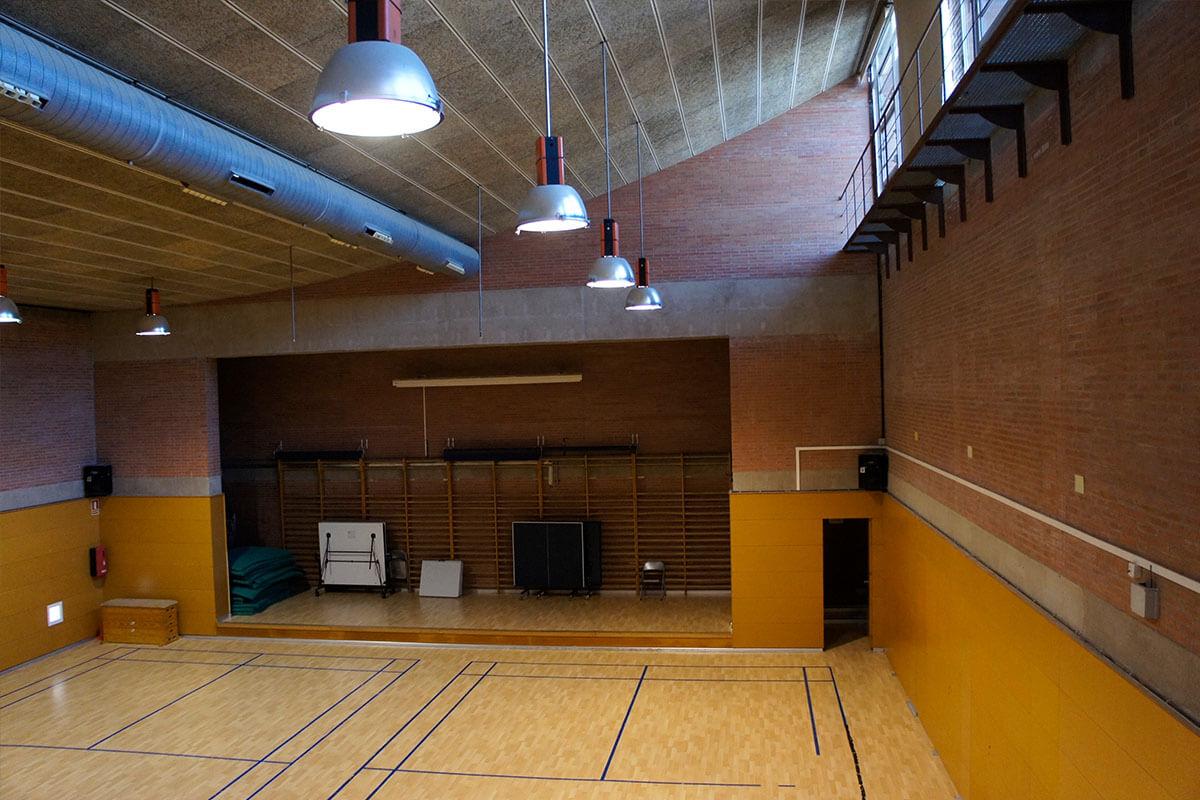 Pavelló esportiu de l'Institut Torre Vicens