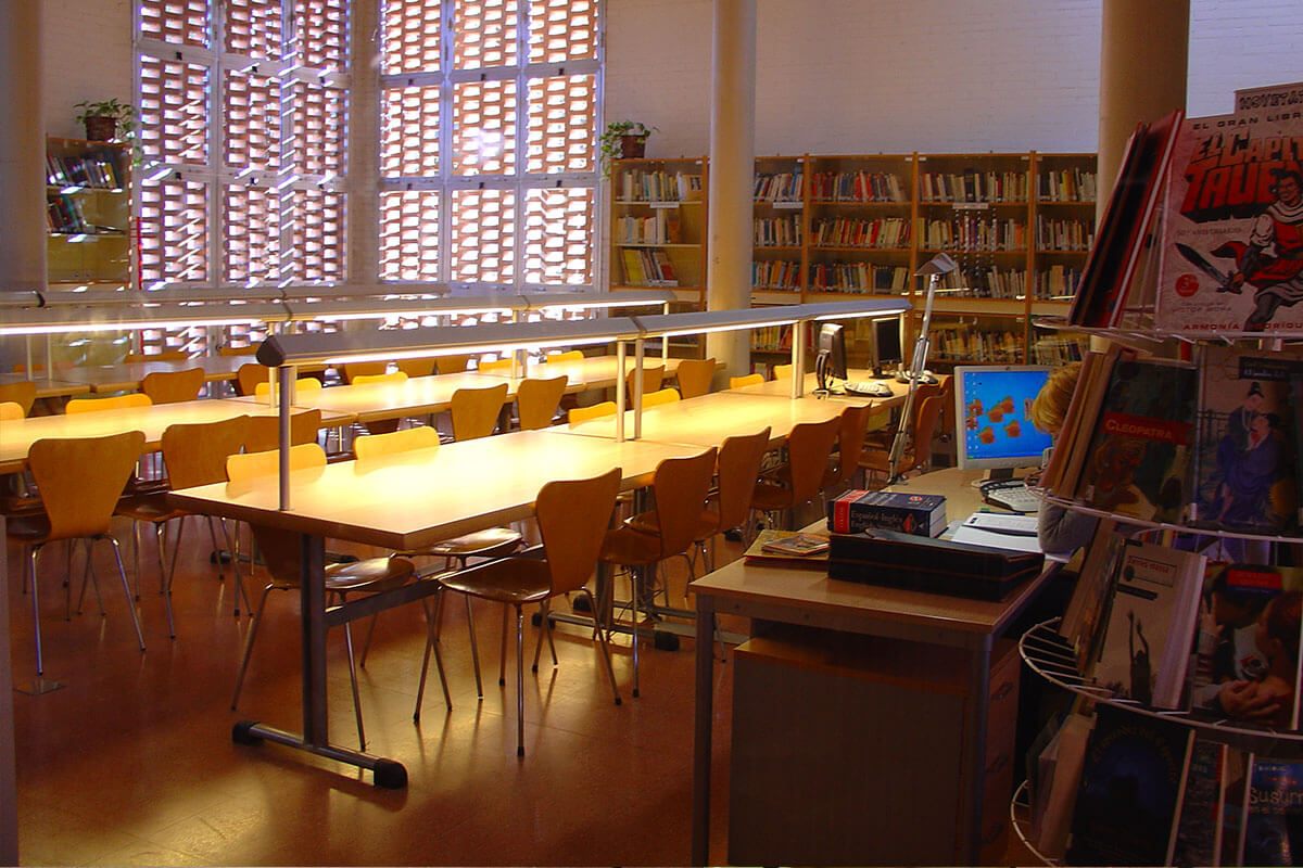 Biblioteca de l'Institut Torre Vicens